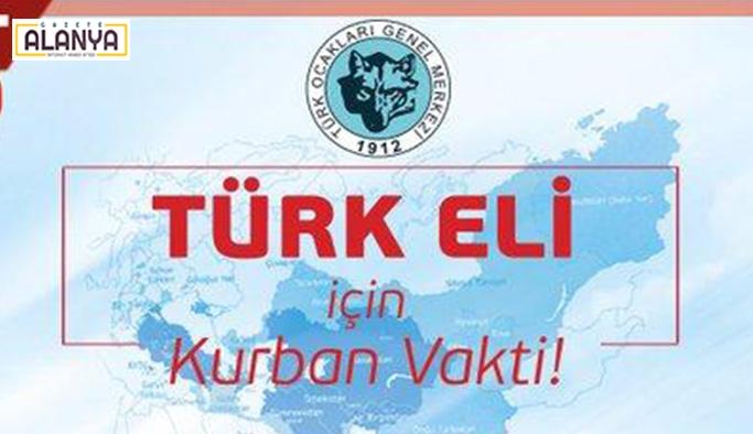 Türk Ocakları'nda Türkeli için kurban vakti