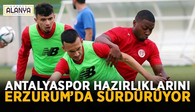 Antalyaspor hazırlıklarını Erzurum'da sürdürüyor