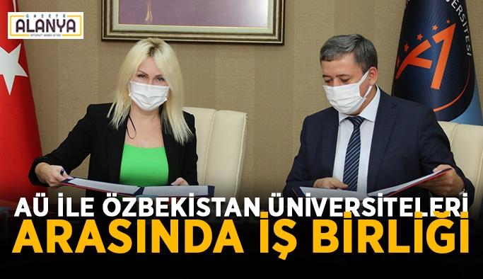AÜ ile Özbekistan üniversiteleri arasında iş birliği