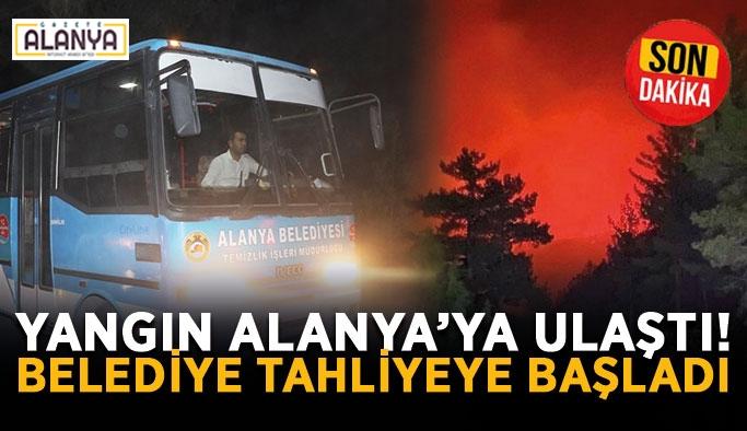 """Başkan Yücel: """"Allah Alanya'mızı ve memleketimizi yangından korusun"""""""