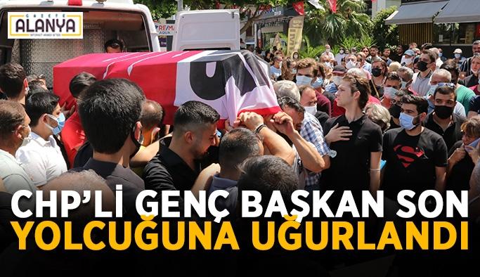 CHP'li genç başkan son yolcuğuna uğurlandı