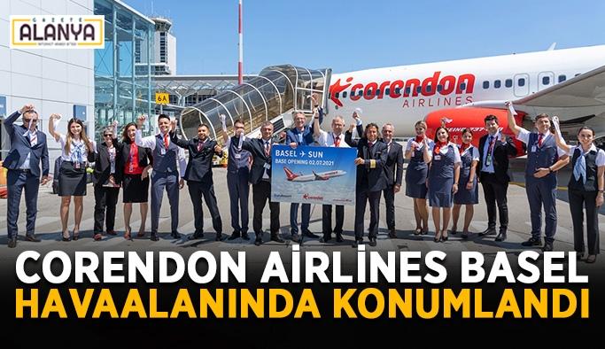 Corendon Airlines Basel Havaalanında konumlandı