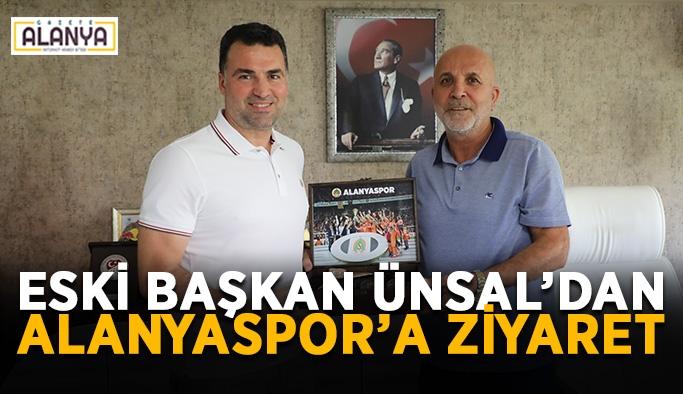 Eski başkan Ünsal'dan Alanyaspor'a ziyaret