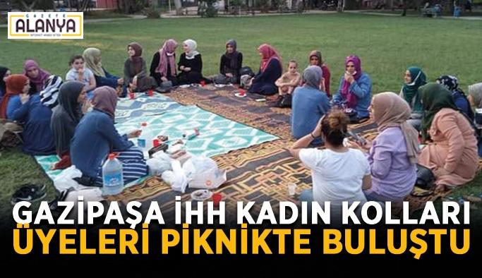 Gazipaşa İHH Kadın Kolları üyeleri piknikte buluştu