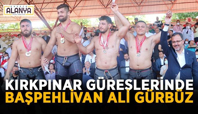 Kırkpınar güreşlerinde başpehlivan Ali Gürbüz