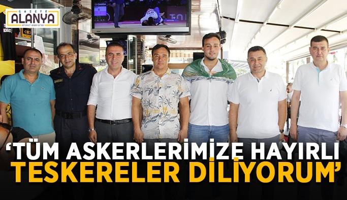 """Türkdoğan: """"Tüm askerlerimize hayırlı teskereler diliyorum"""""""