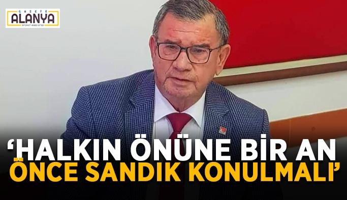 """Başkan Karadağ: """"Ülkeyi yönetemiyorlar"""""""