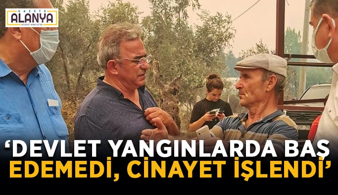 "CHP'li Budak: ""Manavgat'ta en az 37 mahalle yandı"""