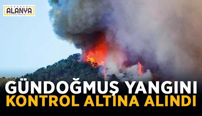 Gündoğmuş yangını kontrol altına alındı