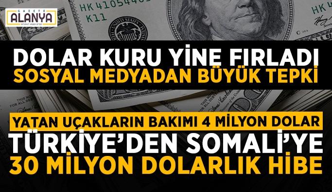 Sözün bittiği yer! Türkiye Somali'ye 30 milyon dolar verecek