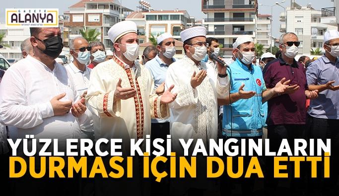 Vatandaşlar yağmur duası yaptı