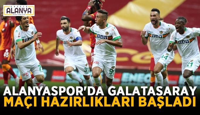 Alanyaspor'da Galatasaray maçı hazırlıkları başladı