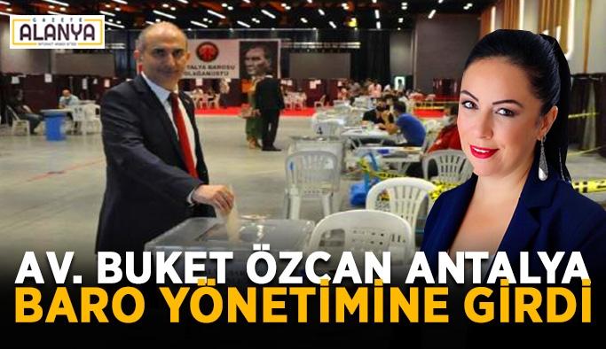 Antalya Barosu'nun yeni başkanı belli oldu