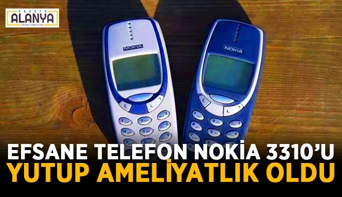Bir hastanın midesinden Nokia 3310 çıkarıldı