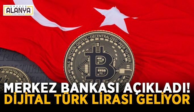 Merkez Bankası açıkladı! Dijital Türk Lirası geliyor