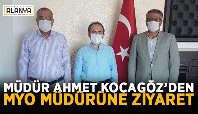 Müdür Ahmet Kocagöz'den MYO müdürüne ziyaret