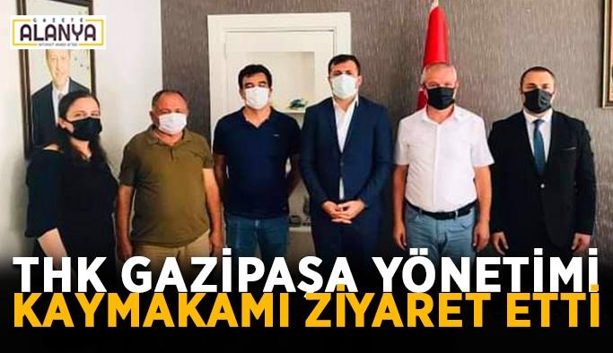 THK Gazipaşa yönetimi Kaymakamı ziyaret etti