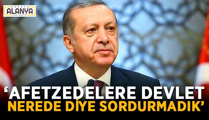 Türkiye doğal afetlerde örnek bir başarıya sahip