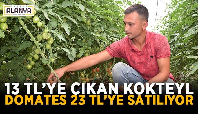 13 TL'ye çıkan kokteyl domates 23 TL'ye satılıyor