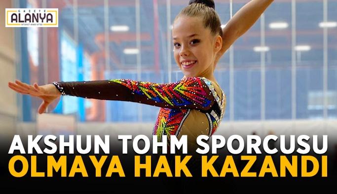 Akshun TOHM sporcusu olmaya hak kazandı