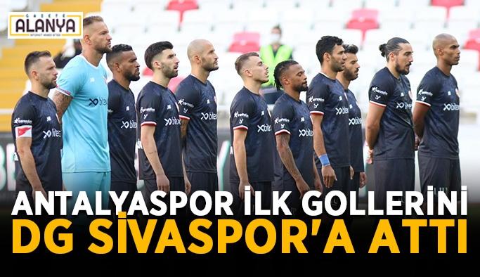 Antalyaspor ilk gollerini DG Sivaspor'a attı