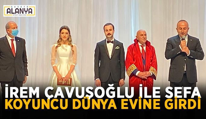 Bakan Çavuşoğlu'nun kızı evlendi