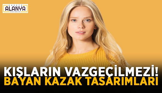 Kışların Vazgeçilmezi! Bayan Kazak Tasarımları