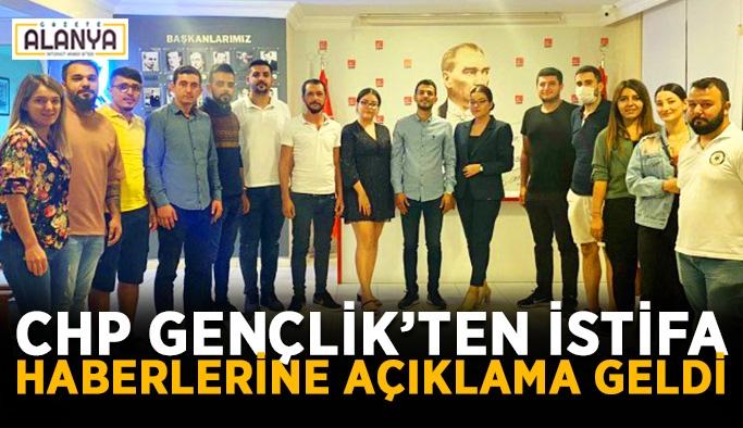 CHP Gençlik'ten istifa haberlerine açıklama geldi