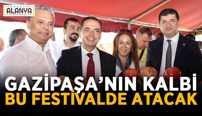 Gazipaşa'nın kalbi bu festivalde atacak