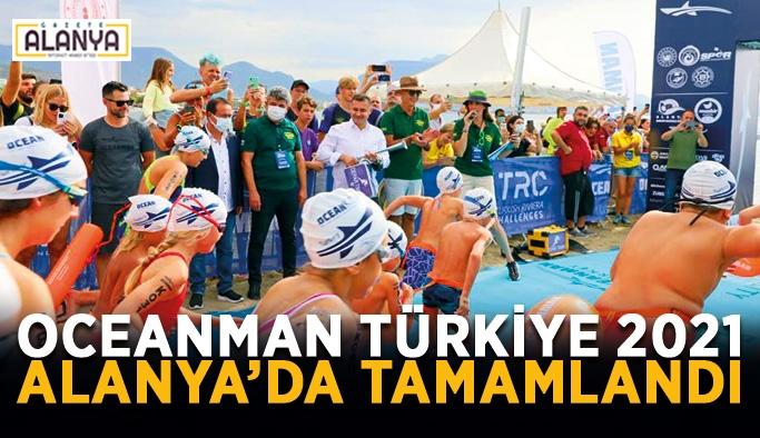 Oceanman Türkiye 2021 Alanya'da tamamlandı