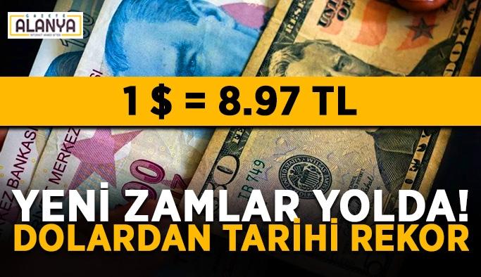 Türk lirası hızla değer kaybediyor