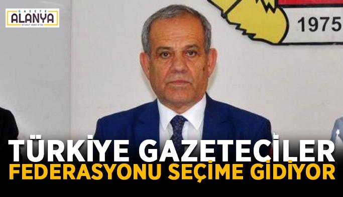 Türkiye Gazeteciler Federasyonu seçime gidiyor