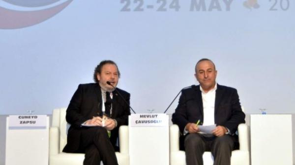 Çavuşoğlu'na 'Onursal Altın Fındık Ödülü'