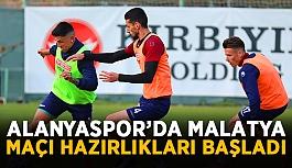 Alanyaspor'da Malatya maçı hazırlıkları başladı