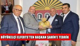 Büyükelçi Elferts'ten Başkan Şahin'e tebrik