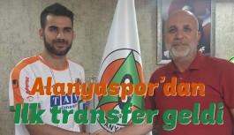 Alanyaspor'dan ilk transfer geldi!