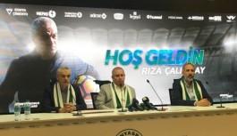 Rıza Çalımbay, Konyaspor'la sözleşme imzaladı!