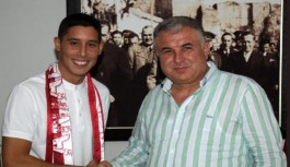 Antalyaspor, Barrada ile 2 yıllık sözleşme imzaladı