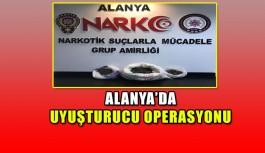Alanya'da operasyon