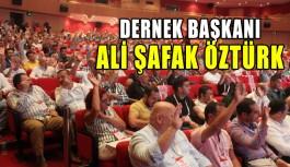 Antalyaspor'da dernek başkanı Ali Şafak Öztürk oldu