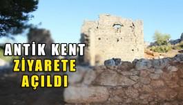 Antik Kent ziyarete açıldı