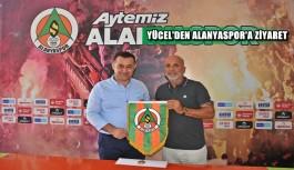 Belediye Başkanı Yücel'den Alanyaspor'a ziyaret