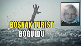 Boşnak turist, denizde boğuldu