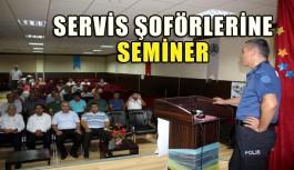Servis sürücülerine eğitim semineri