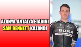 Alanya-Antalya etabını Sam Bennett kazandı