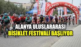 Alanya Uluslararası Bisiklet Festivali başlıyor