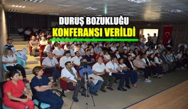 ALKÜ'de 'Duruş Bozukluğu' konferansı