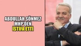 Abdullah Sönmez MHP'den istifa etti
