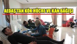 AEDAŞ'tan Kızılay'a 'kök hücre ve kan bağışı'