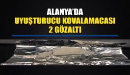 Alanya'da uyuşturucu kovalamacası 2 gözaltı
